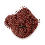 Эластичная резинка коричневые 1 мм
