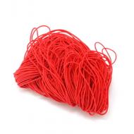 Эластичная резинка красная 1 мм