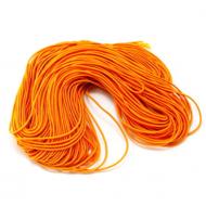 Эластичная резинка шафрановая 1 мм