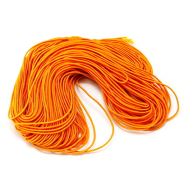 Эластичная резинка шафрановая 1 мм для скрапбукинга