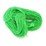 Эластичная резинка ярко-зелёная 1 мм
