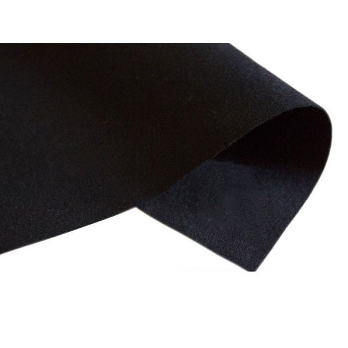 Фетр черный 3 мм для скрапбукинга