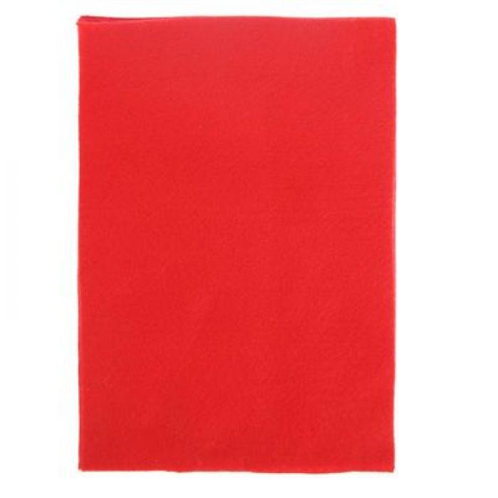 Фетр красный 3 мм для скрапбукинга