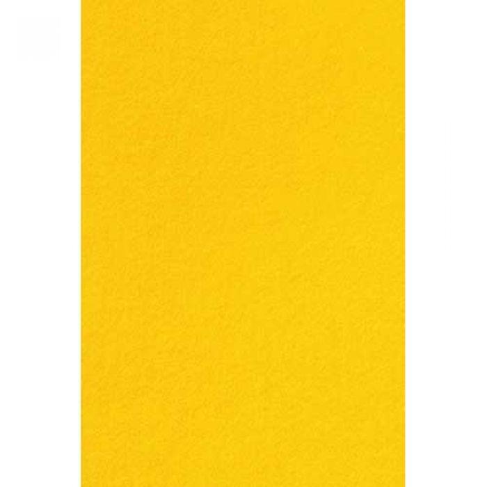 Фетр желтый 2 мм для скрапбукинга