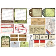 Картинки для вырезания-2, коллекция Дембельский альбом
