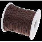 Коричневый вощёный шнур