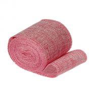 Лента холщовая розовая 60 мм