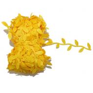 Лента листочки жёлтые