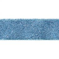 Лента металлизированная синяя 12 мм