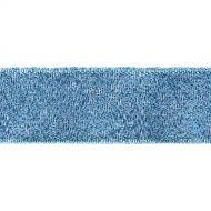 Лента металлизированная синяя 25 мм