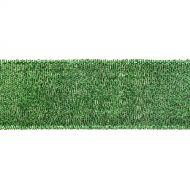Лента металлизированная зелёная 38 мм