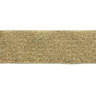Лента металлизированная золотая 25 мм