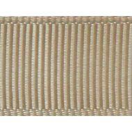 Лента репсовая бежевая 12 мм