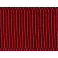 Лента репсовая бордо 12 мм