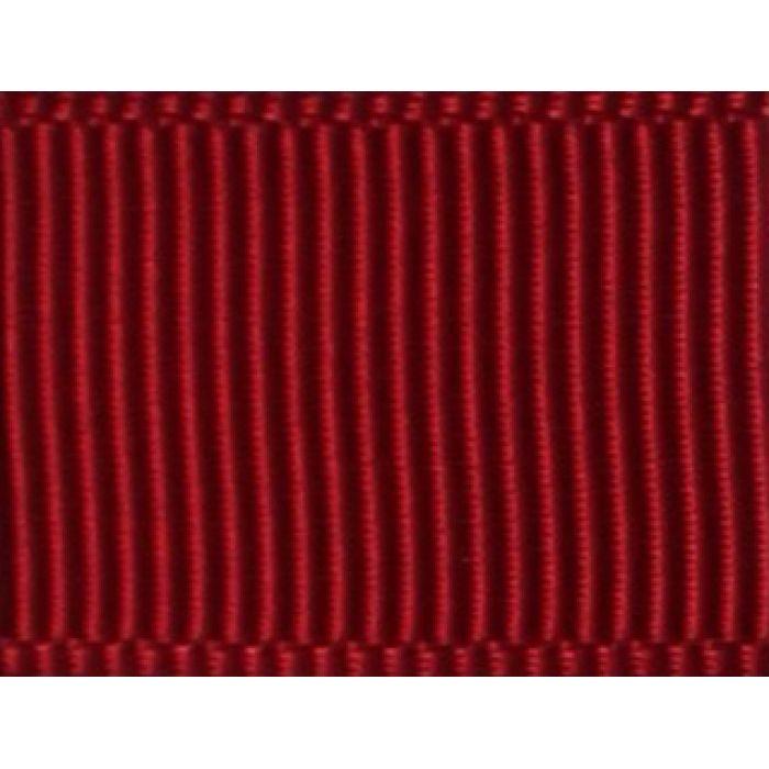 Лента репсовая бордо 12 мм для скрапбукинга