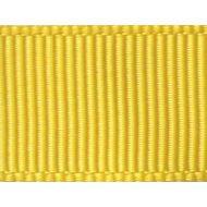Лента репсовая жёлтая 12 мм