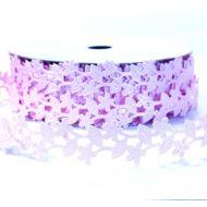 Лента розовый букет 20мм