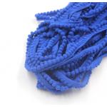 Лента с синими помпонами