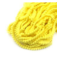 Лента с жёлтыми помпонами