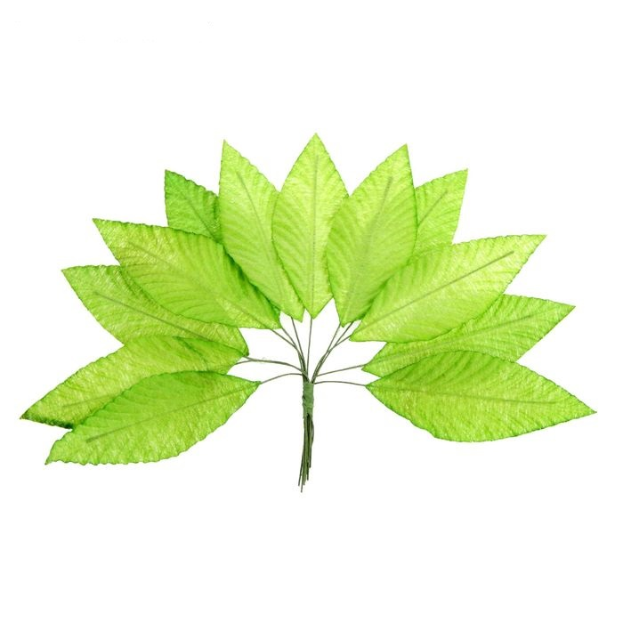 Листья осиновые 42 мм для скрапбукинга