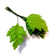 Листья зеленые 33 мм