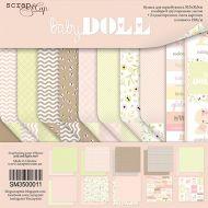 Набор бумаги  Doll Baby 30 х 30 см