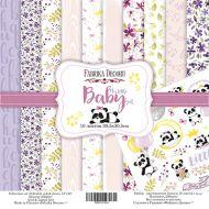 Набор бумаги My little baby girl 30,5 Х 30,5 см