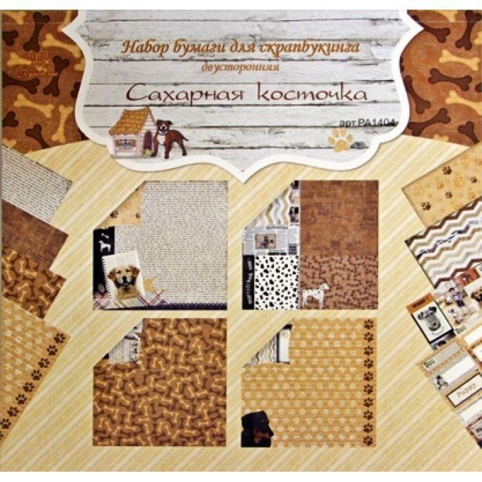 Набор бумаги сахарная косточка 30,5 х 30,5 см для скрапбукинга