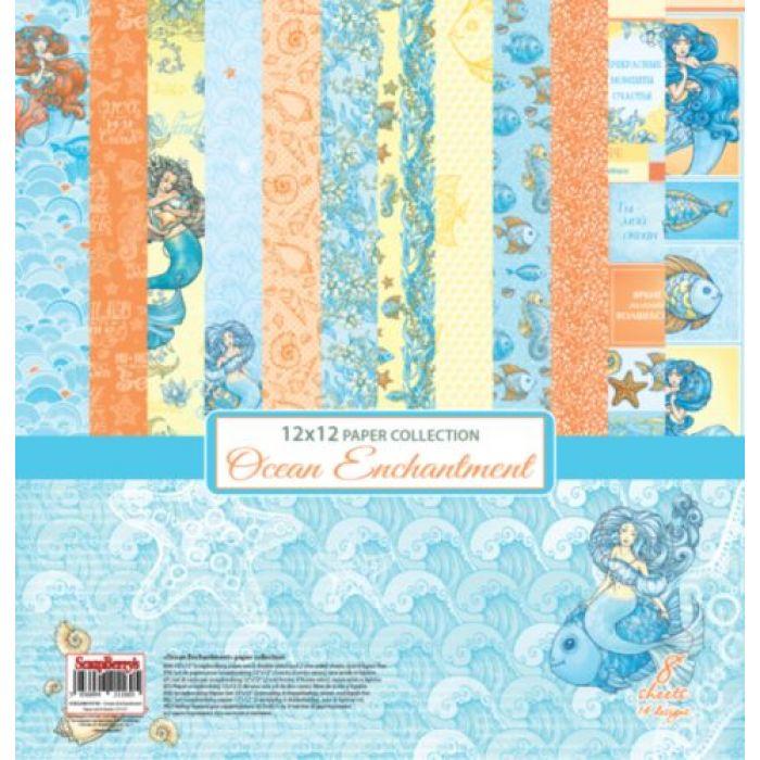 Набор бумаги сказки моря 30,5 х 30,5 см для скрапбукинга