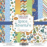 Набор бумаги Space adventure 30,5 Х 30,5 см