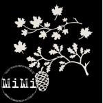 Набор чипборда листопад, коллекция природа