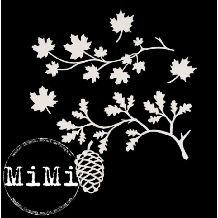 Набор чипборда листопад, коллекция природа для скрапбукинга