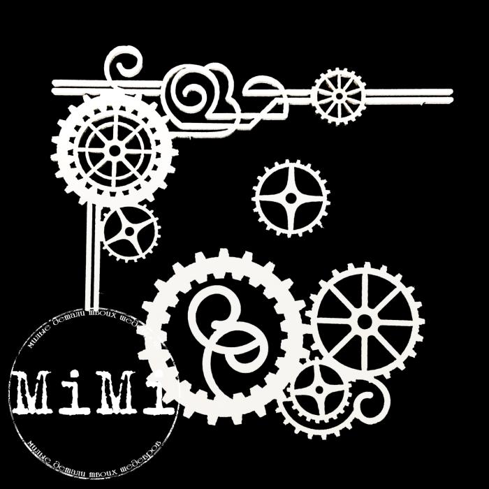Набор чипборда пружины, коллекция механизмы для скрапбукинга