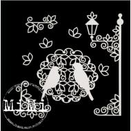 Набор чипборда салфетка, коллекция ажур