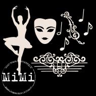 Набор чипборда танец, коллекция музыка
