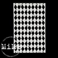 Чипборд винтажные ромбы, коллекция фоны