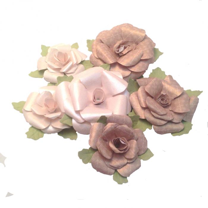 Набор цветов праздничных для скрапбукинга