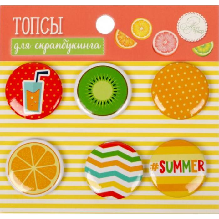 Набор фишек Summer time для скрапбукинга