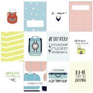 Набор карточек на чемоданах