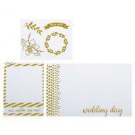 Набор оверлеев (прозрачных карточек) Wedding day