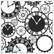 Набор штампов часы