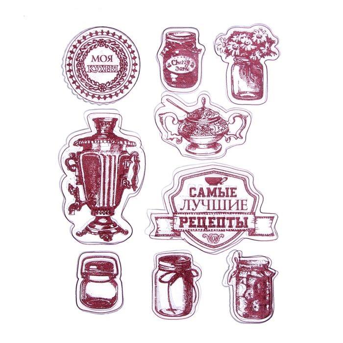 Набор штампов самые лучшие рецепты для скрапбукинга