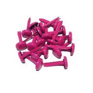 Набор ярко-розовых брадс