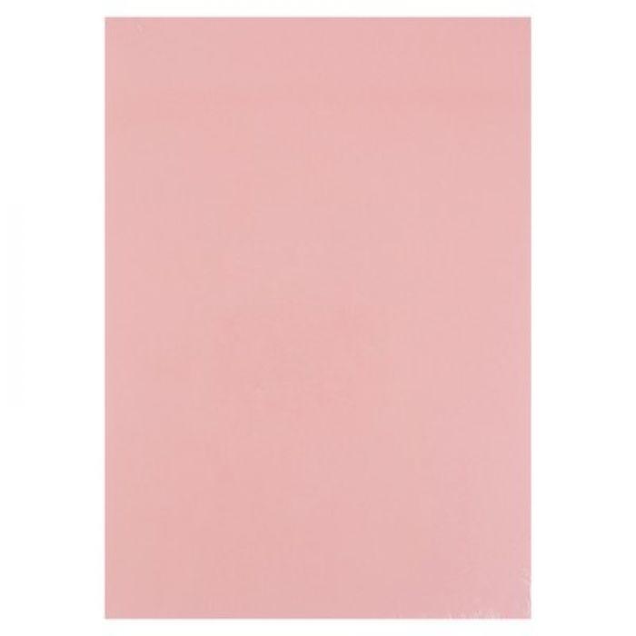 Нежно-розовый жемчужный картон А4 для скрапбукинга