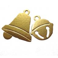 Новогодние колокольчики золотые