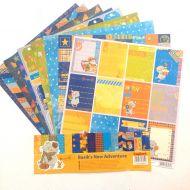 Набор бумаги новые приключения Басика 30,5 х 30,5 см