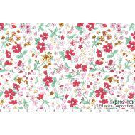 Отрез ткани цветы, коллекция Цветочный букет