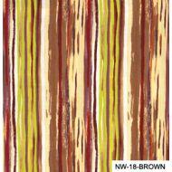 Отрез ткани коричневые полоски, коллекция Спящая красавица
