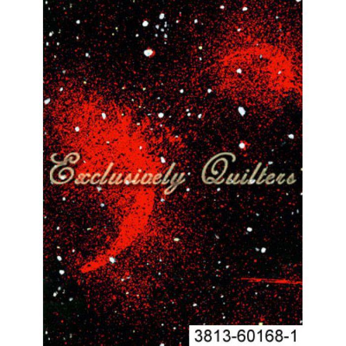 Отрез ткани красная туманность для скрапбукинга
