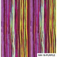 Отрез ткани лиловые полоски, коллекция Спящая красавица